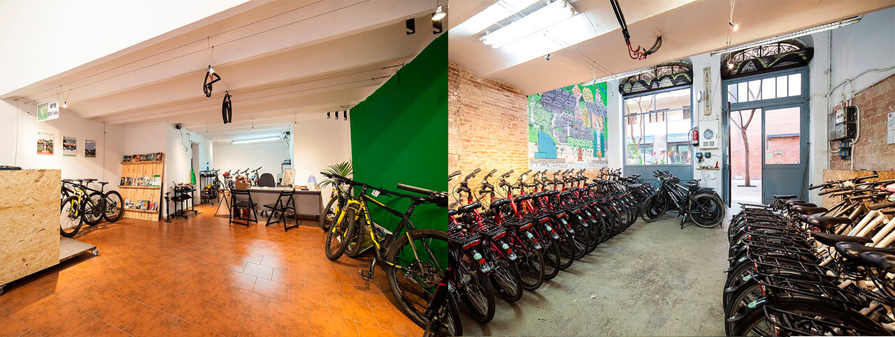 Pictures of Rent a bike Barcelona